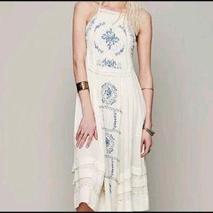 Free People beautiful Boho Dress
